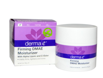 美容クリーム:Derma E Firming DMAE Moisturizer with Alpha Lipoic and C Ester