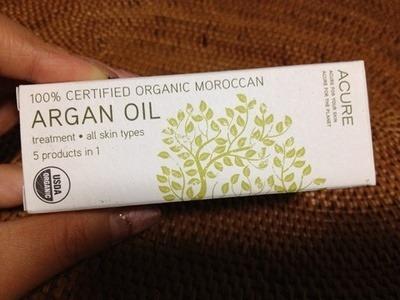 モロッカンアルガンオイル:Acure Organics Moroccan Argan Oil