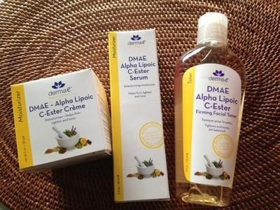 iherb化粧水:Derma E Firming Toner with DMAE Alpha Lipoic and C Ester