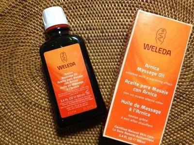 ホットマッサージオイル:Weleda Arnica Massage Oil