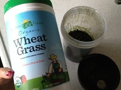 iherb青汁:Amazing Grass Organic Wheat Grass Whole Food Drink Powder