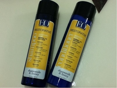 ドライヘア用シャンプー:EO Products Restorative  Chamomile & Honey