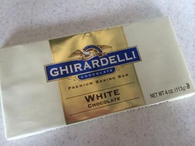 ホワイトチョコレート:Ghirardelli Premium Baking Bar White Chocolate
