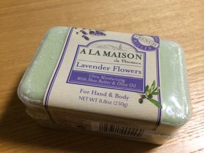 シアバター入り石鹸:A La Maison de Provence Lavender Flowers