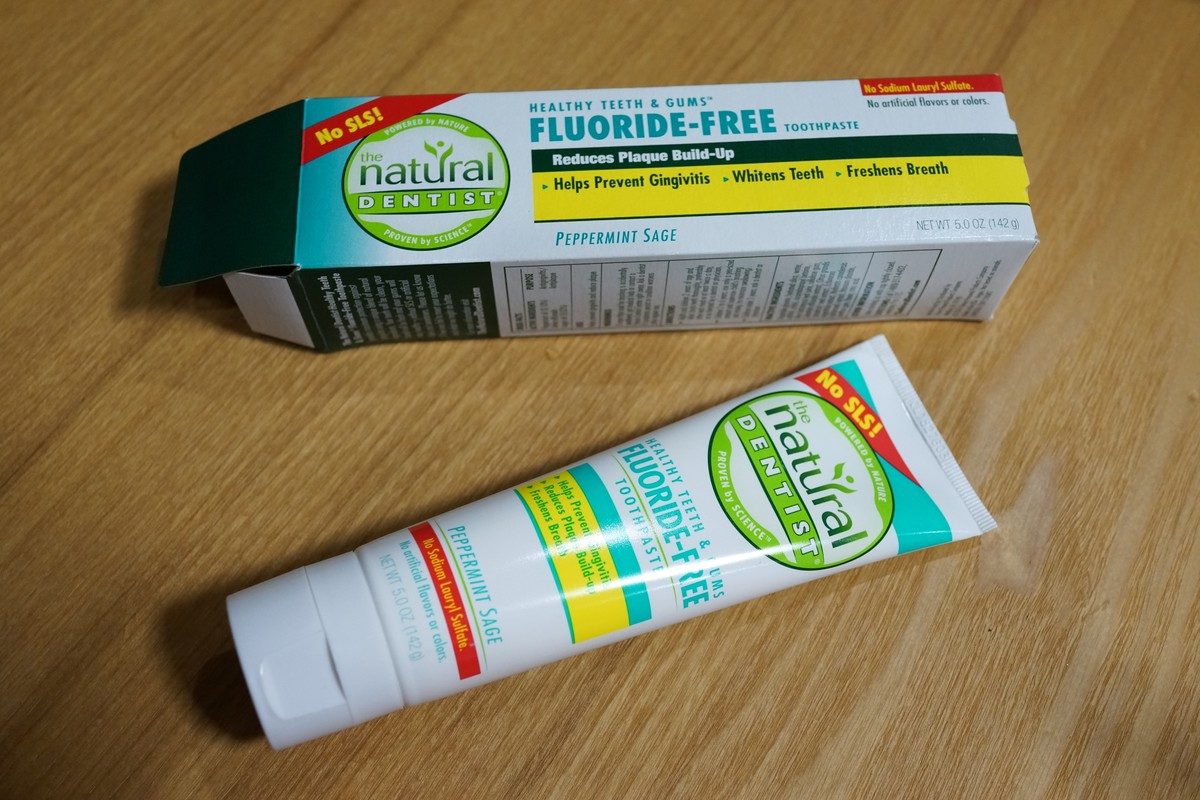 Natural Dentist フッ素不使用 歯肉炎予防はみがき粉  ペパーミントセージ